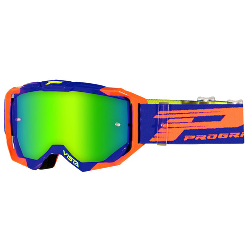 Progrip Vista 3303 Orange / Blue Goggles