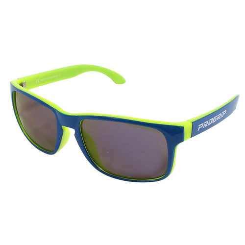 Progrip Blue / Yellow Sunglasses with Anti UV & Multilayered Lens