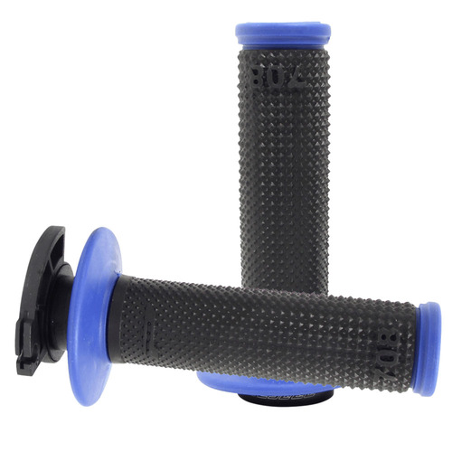 Progrip Lock On Blue/Black MX / Enduro Grips